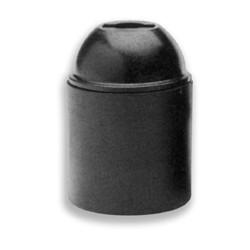 Portalampade E14 liscio bianco 5pz.