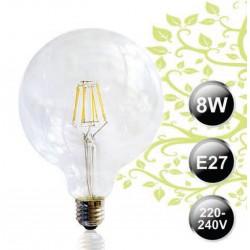 LAMPADA 8W FILAMENTO LED SFERA Ø125mm